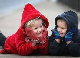 KIDS IN COATS